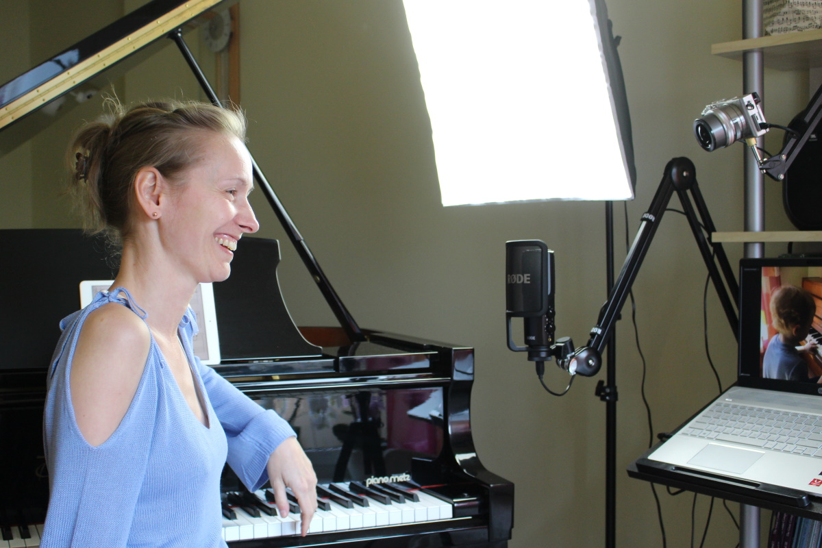 Klavierschule Markt Bibart - Piano-lessons by video-call